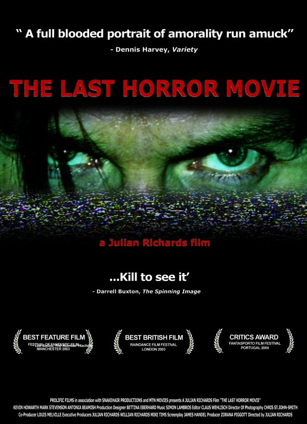 The Last Horror Movie: Genuinely Chilling Found Footage