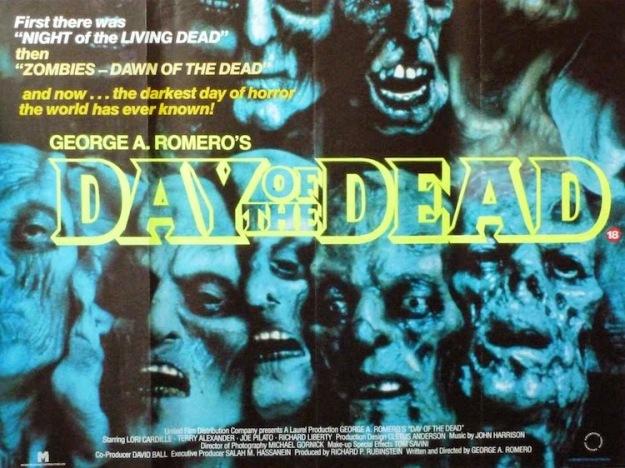 Day Of The Dead (1985) - Original British Quad Poster