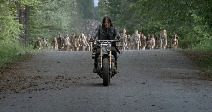 Father Son Holy Gore - The Walking Dead - Daryl Rides