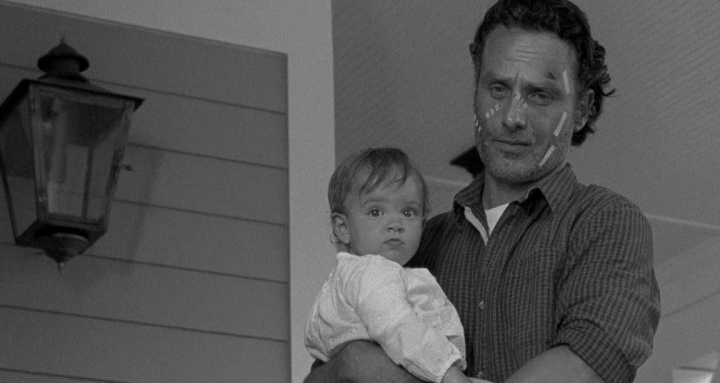 Father Son Holy Gore - The Walking Dead - Rick and Judith Grimes