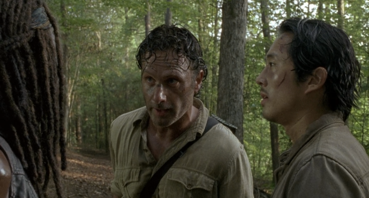 Father Son Holy Gore - The Walking Dead - Rick Grimes and Glenn Rhee