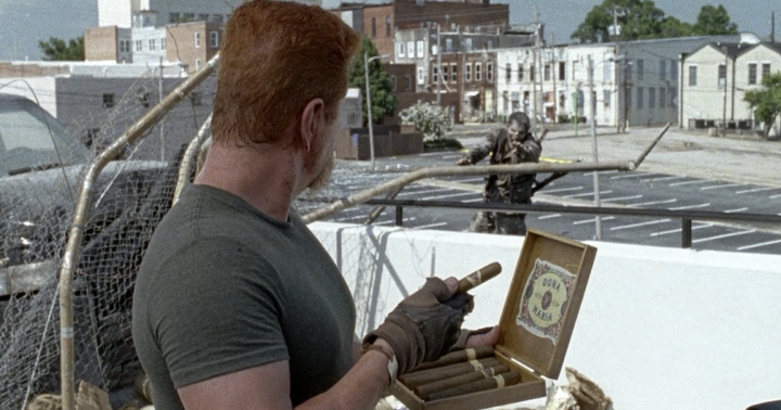 Father Son Holy Gore - The Walking Dead - Abraham's Cigars