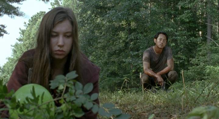 Father Son Holy Gore - The Walking Dead - Enid and Glenn's Green Balloons