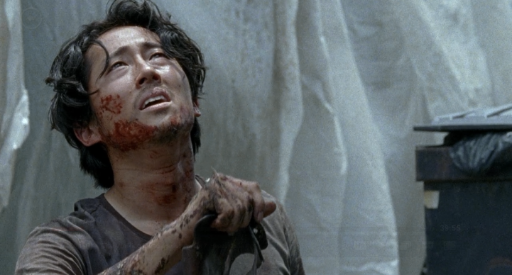 Father Son Holy Gore - The Walking Dead - Glenn Survives