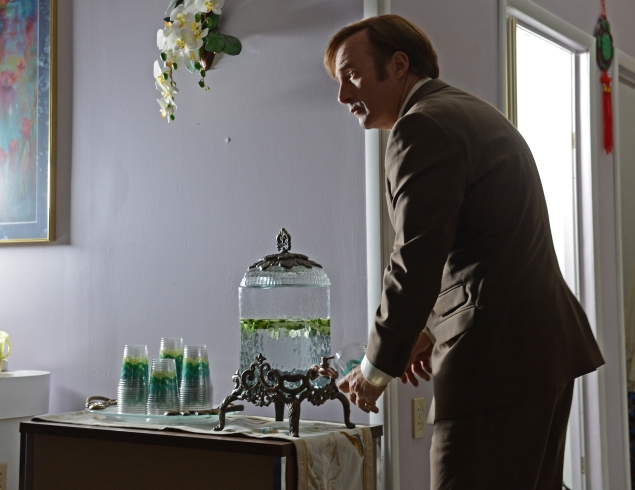 Bob Odenkirk as Jimmy McGill - Better Call Saul _ Season 2, Episode 1 - Photo Credit: Ursula Coyote/Sony Pictures Television/AMC