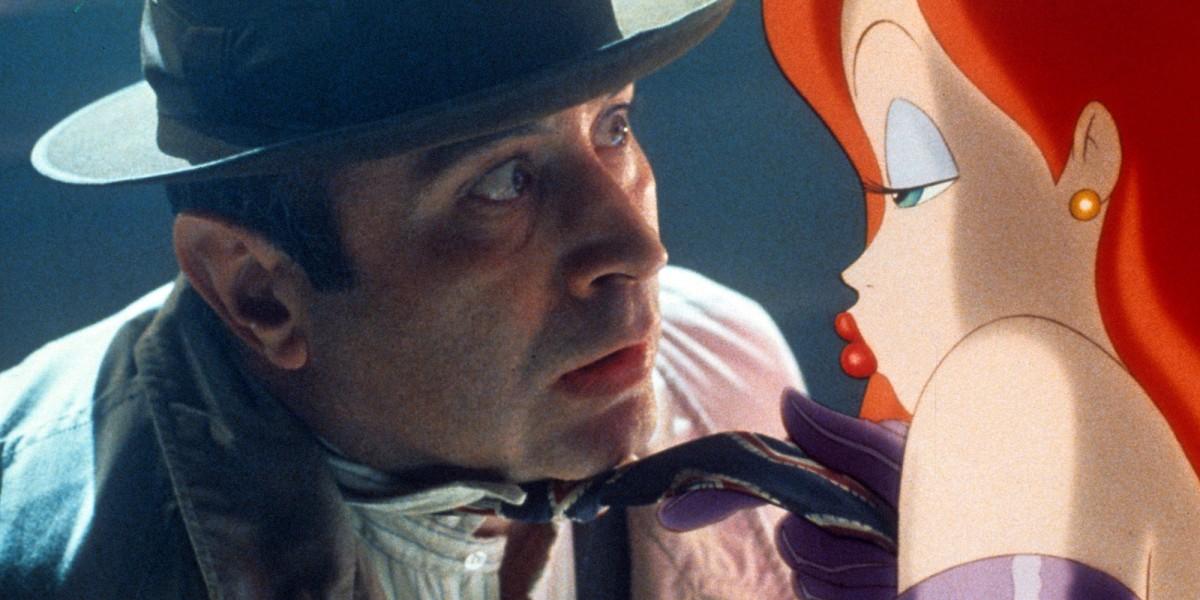 Violent Segregation And Cartoon Heart In Who Framed Roger