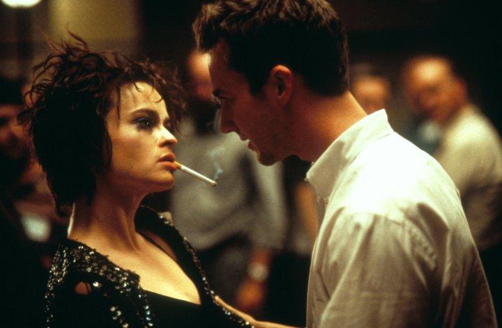 Father Son Holy Gore - Fight Club - Helena Bonham Carter & Edward Norton