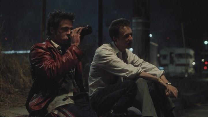 Father Son Holy Gore - Brad Pitt and Edward Norton