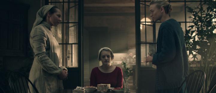 The Handmaid's Tale - Elisabeth Moss and Yvonne Strahovsky