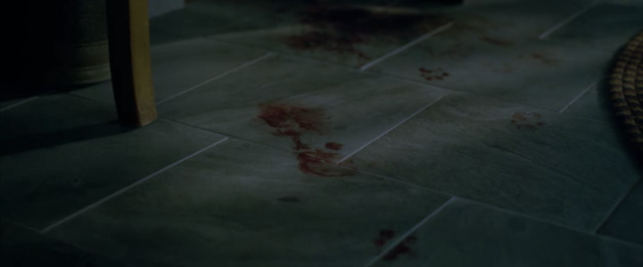 Father Son Holy Gore - Gerald's Game - Bloody Footprints