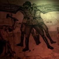 Urban Explorers Nazi Mural #1