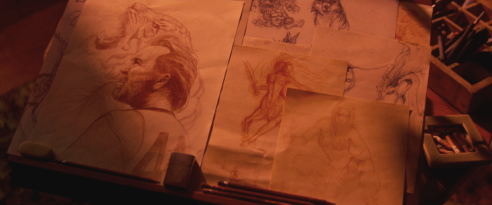 Mandy - Drawings
