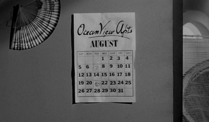 Night Tide - Calendar
