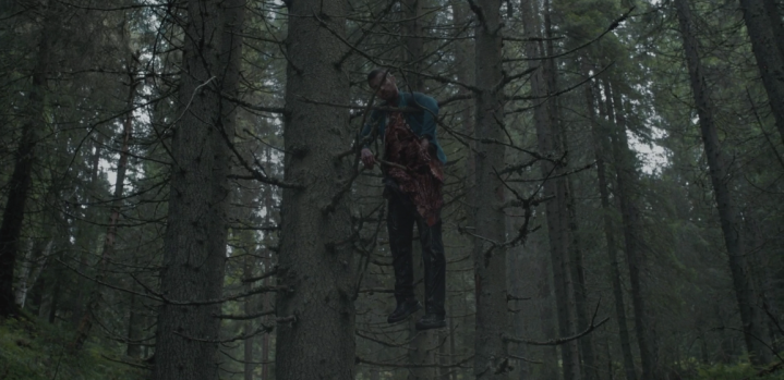 The Ritual - Dead Hutch in Tree