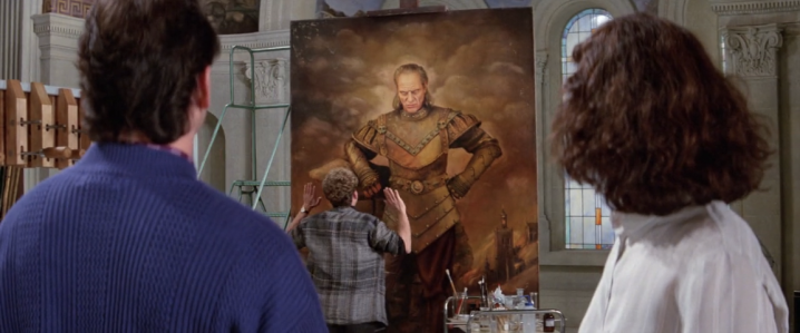 Ghostbusters II - Vigo Painting