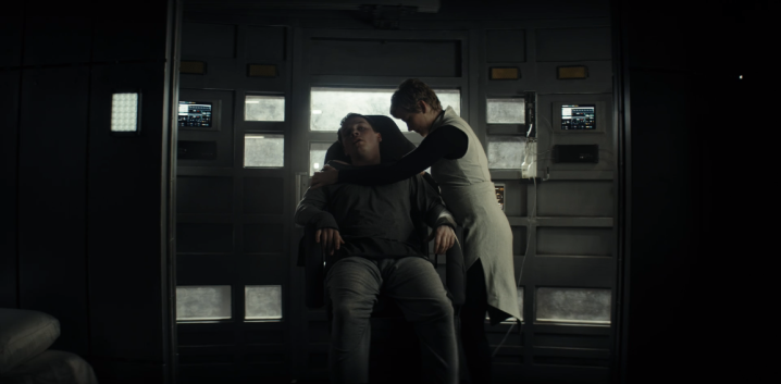 "Syfy's Nightflyers ""White Rabbit"" - Gretchen Mol & Sam Strike"