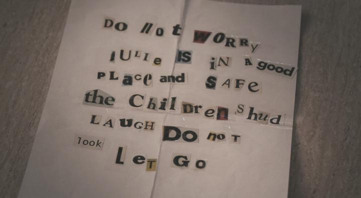 True Detective Season 3 - Cut and Paste Note