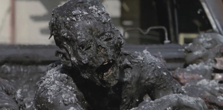 The Walking Dead - Adaptation - Burned Zombie