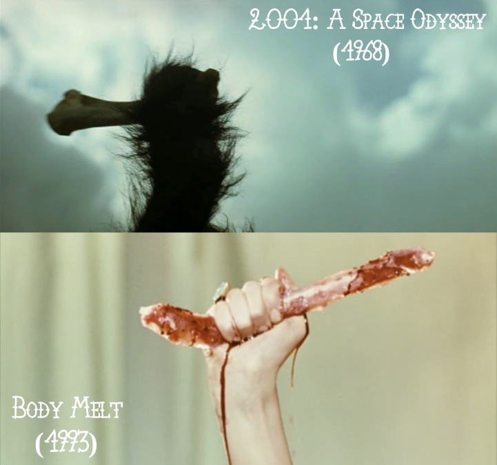 2001: A Space Odyssey (1968) v. Body Melt (1993)