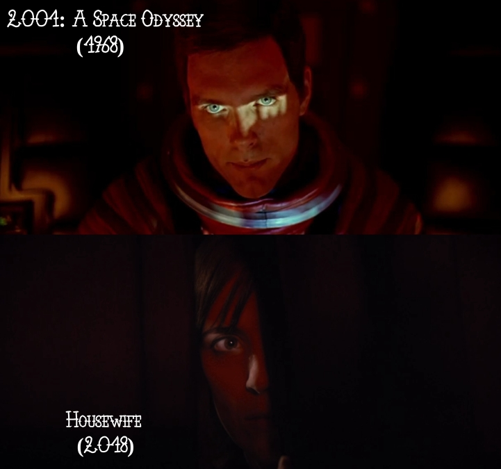 Father Son Holy Gore: 2001: A Space Odyssey (1968) v. Housewife (2018)