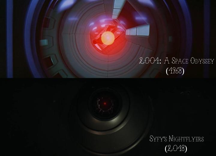 2001: A Spacey Odyssey v. Syfy's Nightflyers