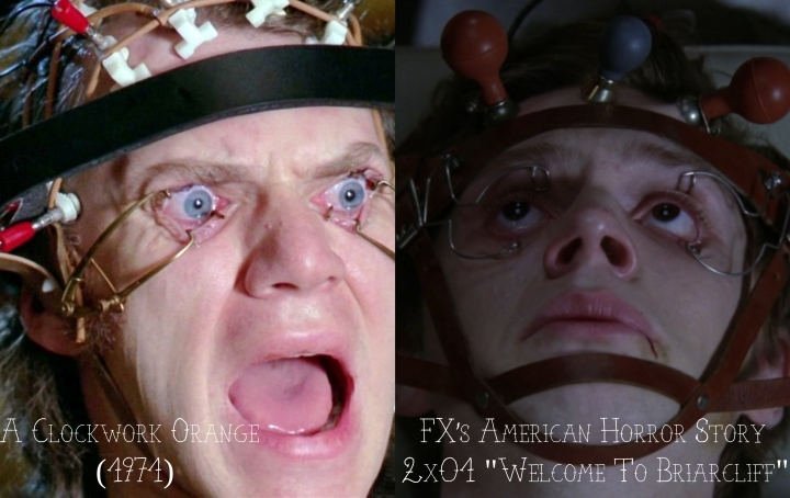 "A Clockwork Orange (1974) v. FX's American Horror Story ""Asylum"""