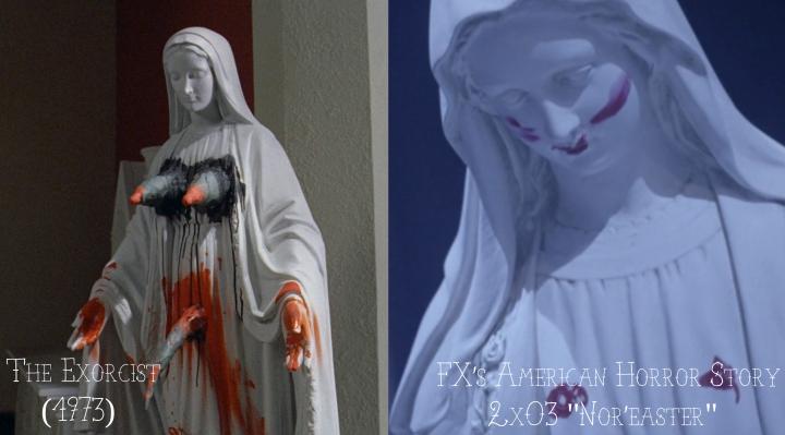 """The Exorcist (1973) v. FX's American Horror Story """"Asylum"""""""
