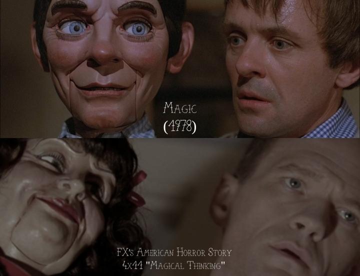 """Magic (1978) v. FX's American Horror Story """"Freak Show"""""""