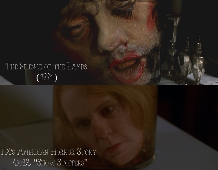 """The Silence of the Lambs (1991) v. FX's American Horror Story """"Freak Show"""""""