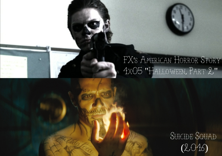 """FX's American Horror Story """"Murder House"""" v. Suicide Squad (2016)"""