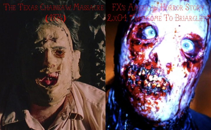 "The Texas Chainsaw Massacre (1974) v. FX's American Horror Story ""Asylum"""