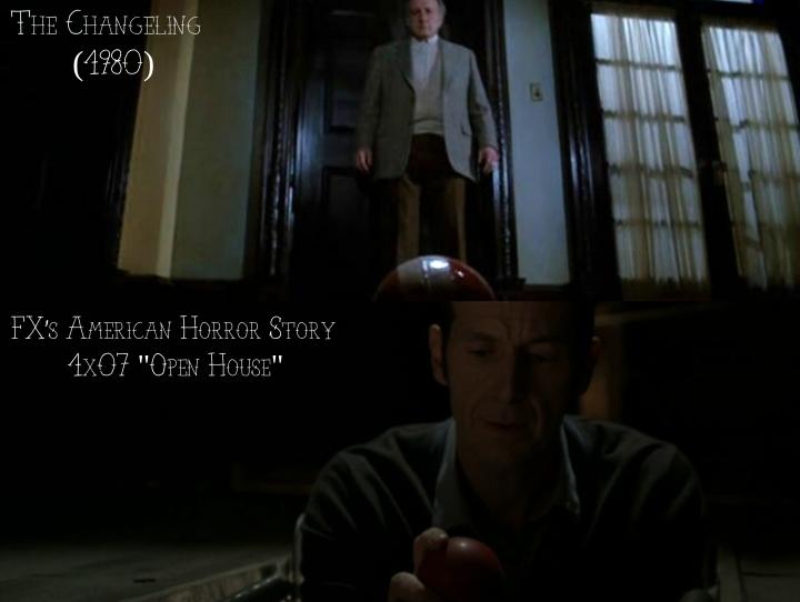 """The Changeling (1980) v. FX's American Horror Story """"Murder House"""""""