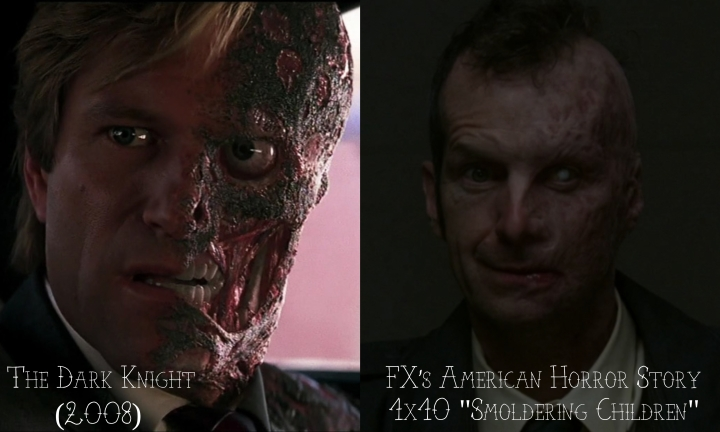 """The Dark Knight (2008) v. FX's American Horror Story """"Murder House"""""""
