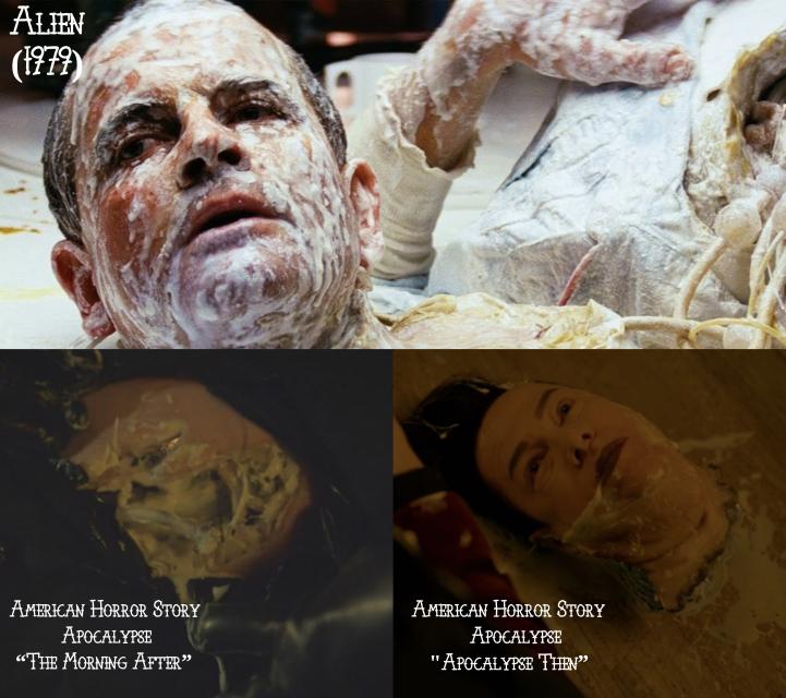 """Alien (1979) v. American Horror Story """"Apocalypse"""""""