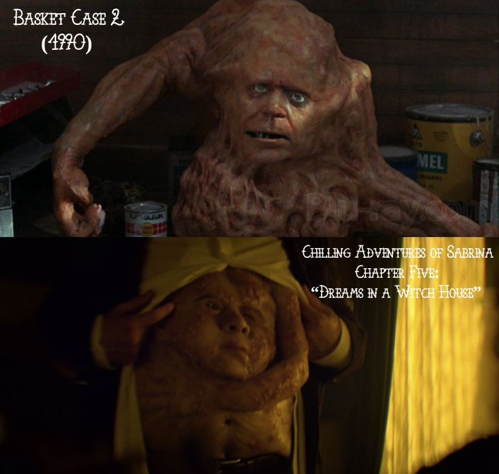 "Basket Case 2 (1990) v. Chilling Adventures of Sabrina ""Dreams in a Witch House"""