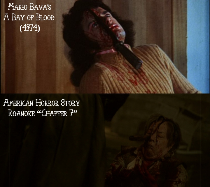 "Mario Bava's A Bay of Blood (1971) v. American Horror Story ""Roanoke"""