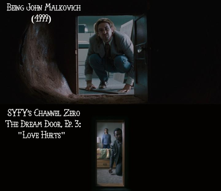 Being John Malkovich (1999) v. Channel Zero: The Dream Door