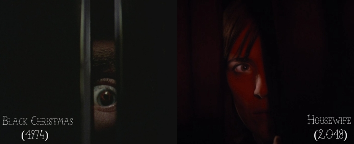 Black Christmas (1974) v. Housewife (2018)