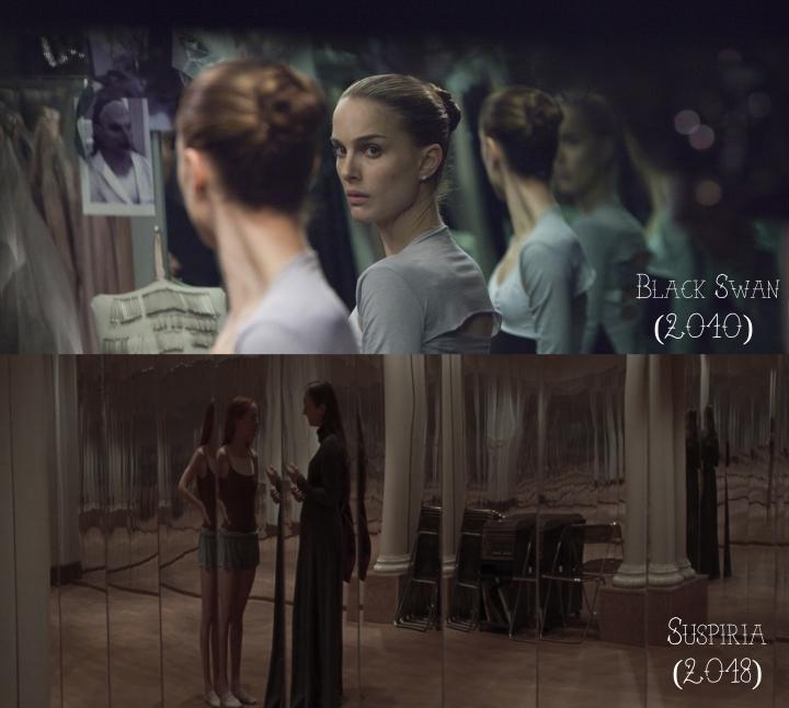 Black Swan (2010) v. Suspiria (2018)