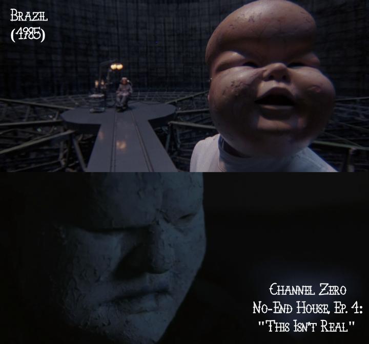 Brazil (1985) v. Channel Zero: No-End House