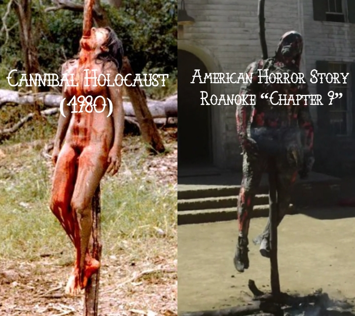 "Cannibal Holocaust (1980) v. American Horror Story ""Roanoke"""