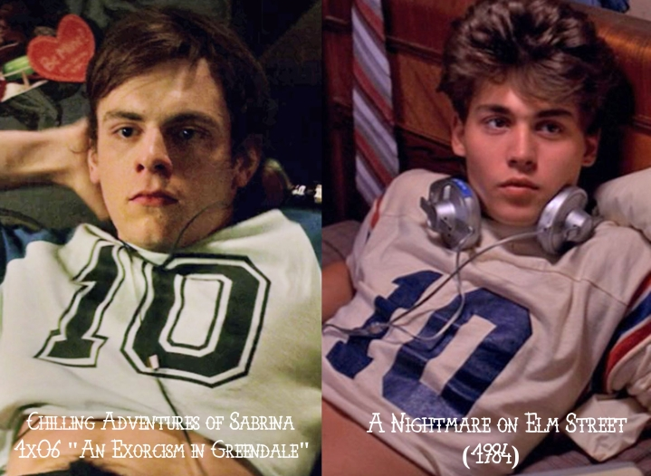 Chilling Adventures of Sabrina v. A Nightmare on Elm Street (1984)