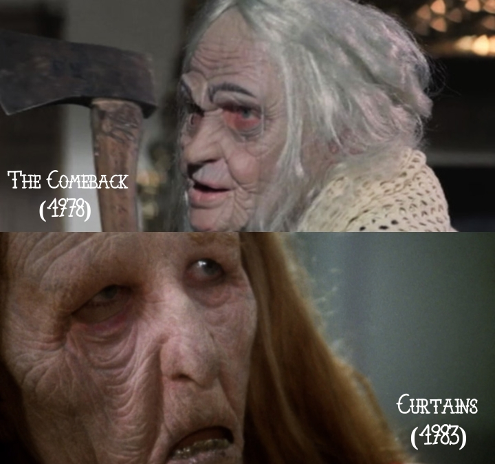 The Comeback (1978) v. Curtains (1983)