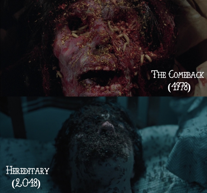The Comeback (1978) v. Hereditary (2018)