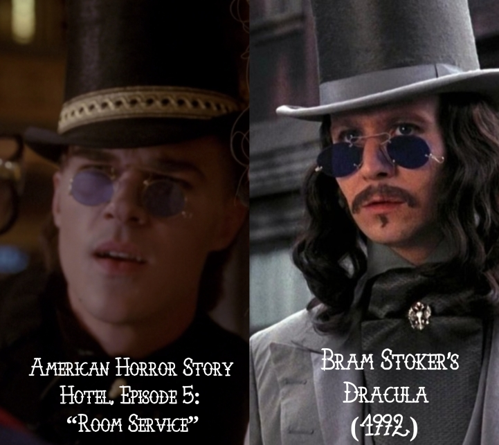 """Bram Stoker's Dracula (1992) v. American Horror Story """"Hotel"""""""