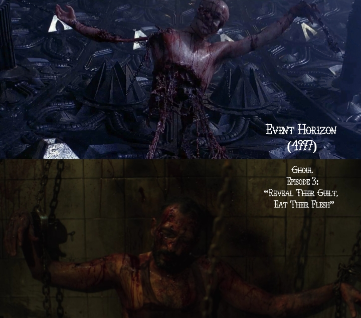 Father Son Holy Gore: Event Horizon (1997) v. Netflix's Ghoul