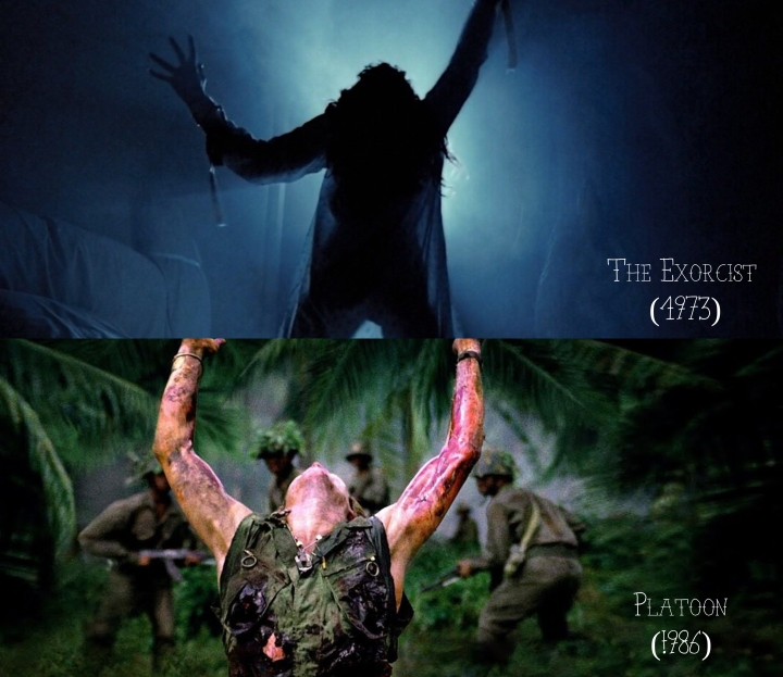 The Exorcist (1973) v. Platoon (1986)