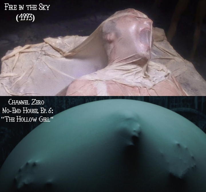 Fire in the Sky (1993) v. Channel Zero: No-End House