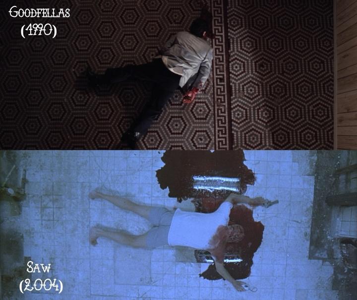 Goodfellas (1990) v. Saw (2004)