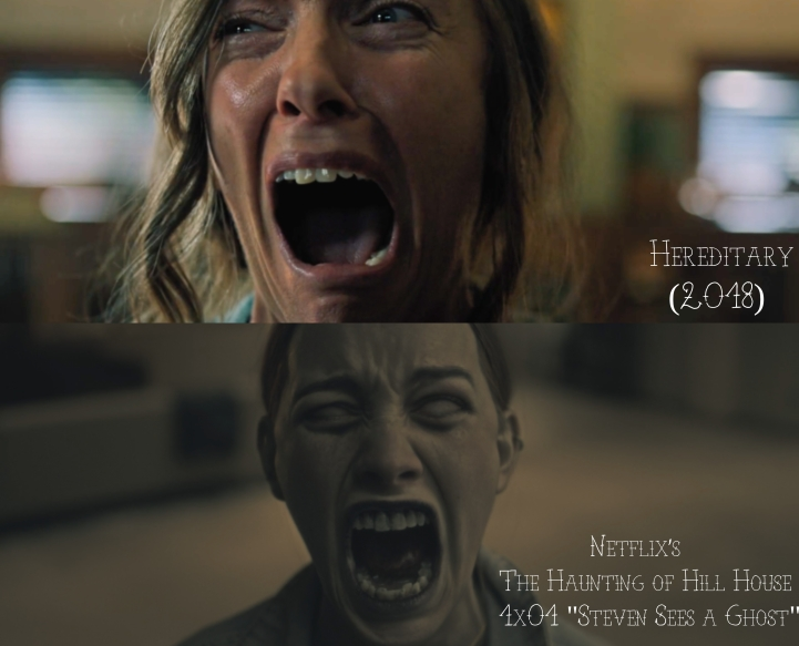Hereditary (2018) v. Netflix's The Haunting of Hill House (2018)
